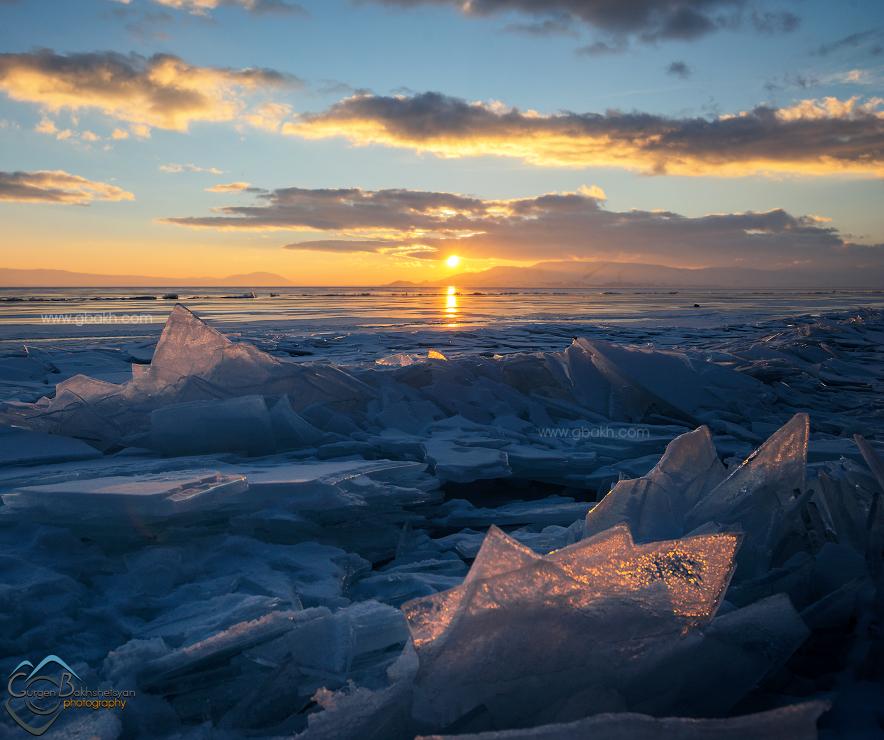 բնաշխարհ բնություն Գեղարքունիք լեռնաշխարհ լիճ լճեր հայաստան հայկական հայոց ճանապարհորդական սառած սառույց Սևան սևանա