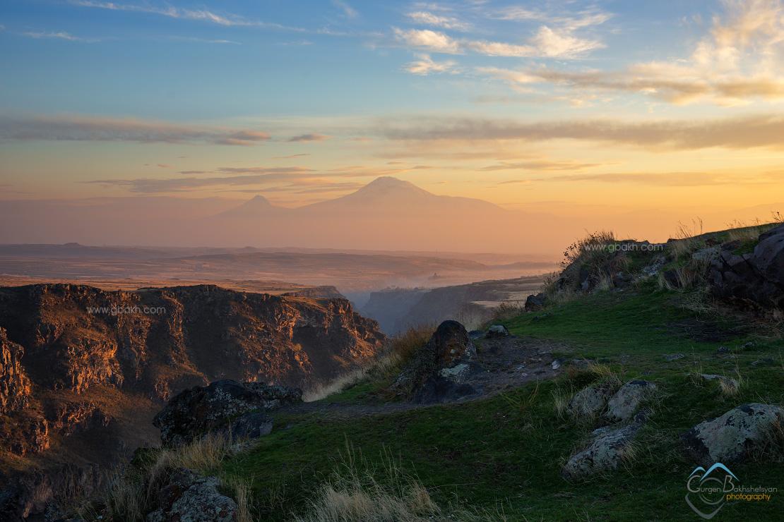 armenia armenian big highland ler masis mount mountain mt. sar sis small travel